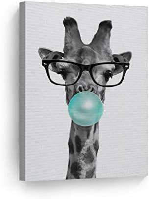 Smile Art Design Cute Giraffe