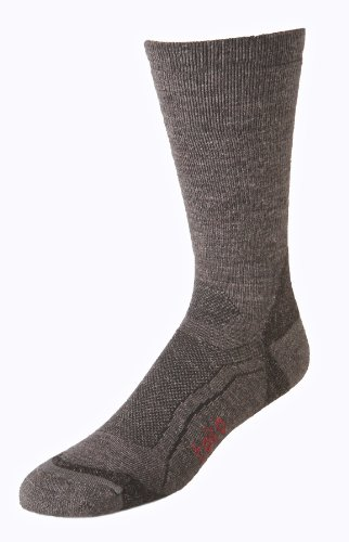 Teko Men's Evolution tekoMERINO Light Hiking Sock,brown,Large