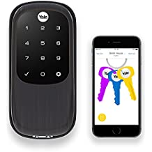Yale Assure Lock with Bluetooth and Z-Wave, Oil Rubbed Bronze, YRD446ZW20BP, Works with Alexa, SmartThings and Wink
