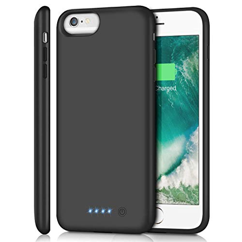 Battery Case for iPhone 6s Plus/ 6 Plus/ 7 Plus/ 8 Plus 8500mAh, Rechargeable Charging Case for iPhone 6Plus Battery Pack Apple 6s Plus Portable Power Bank 7Plus 8Plus