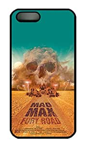 iPhone 5S Case, iPhone 5S Cases - Non-Slip Black Hard Back Case Cover for iPhone 5/5s Mad Max Movie Poster 2 Excellent Grip Back Bumper Case for iPhone 5/5S