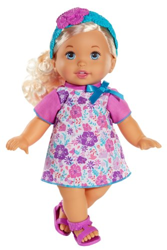 Mattel Little Mommy Sweet As Me Floral Boho Doll