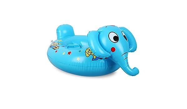 Yevita - Elefante hinchable para piscina, color azul: Amazon.es ...