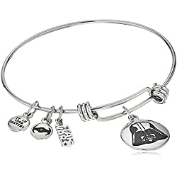 Star Wars Jewelry Darth Vader Stainless Steel Expandable Charm Bracelet