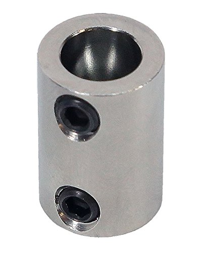 3/16 inch to 8mm Stainless Steel Set Screw Shaft Coupler