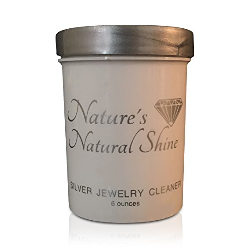 Nature's Natural Shine Silver, Sterling Silver, Coin Jewelry Cleaner|Organic|Silver Jewelry Cleaner|