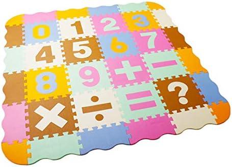 LUVODI 16 PCS Alfombra Puzzle de Goma EVA para Niños Alfombras de ...