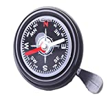 HCDjgh ღ Cycling Accessories Fenders ღ, Bicycle Compass Bell New Mountain Bike Bicycle Compass Bell