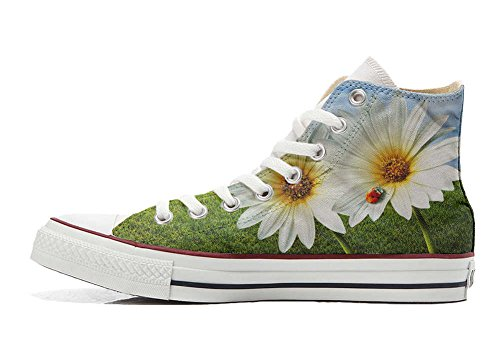 Converse All Star Customized - zapatos personalizados (Producto Artesano) mariquita