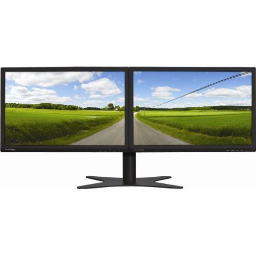 "DoubleSight Dual 19"" LCD HD Monitors Black DS-1900WA"