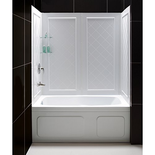 DreamLine QWALL-Tub Backwall Kit, SHBW-1360603-01 (Tub And Shower Surround compare prices)