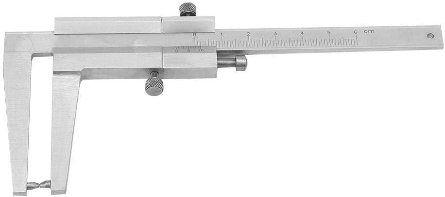 Zerone Edelstahl-Bremsscheiben-Messschieber 0-60 mm Messbereich 0,1 Genauigkeit