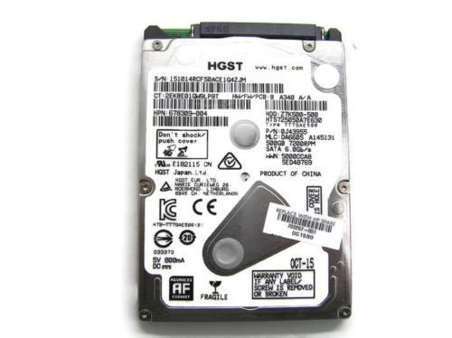 (HP 500GB 7200RPM Hitachi HGST SATA Hard Drive (HDD) 703267-001)