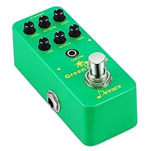 donner green land mini electric guitar preamp pedal effect musical instruments. Black Bedroom Furniture Sets. Home Design Ideas
