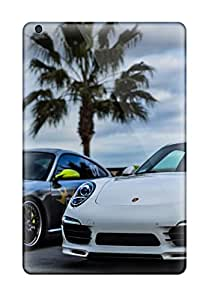 Hot Protective Tpu Case With Fashion Design For Ipad Mini 3 (porsche)