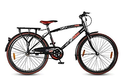 c5144af9e76 Image Unavailable. Image not available for. Colour: Hero Black Pearl 26T  Bicycle ...