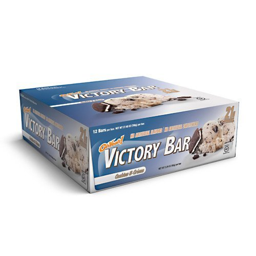 ISS Oh Yeah! Victory - Cookies & Creme - 12 Bars Box - 2.29 oz (65 g) per Bar
