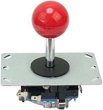 fitTek Botón Bola roja 8 modos Joystick para consola máquina ...