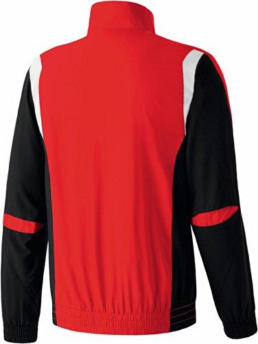 erima Anzug Premium One Präsentationsjacke - Chaqueta rojo / negro / blanco
