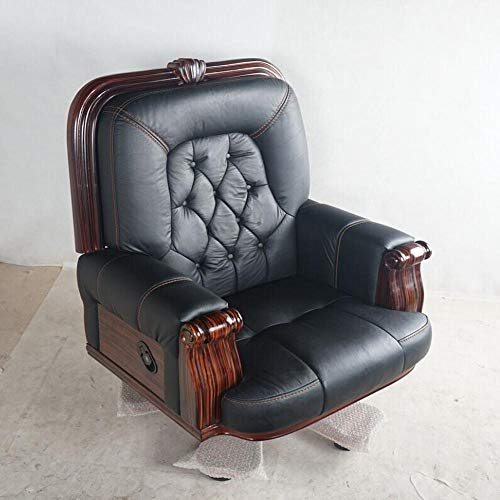 Luxury Executive Chair Reclining President Chair Leather First Layer Leather Office Chair Big Boss President Chair Noble