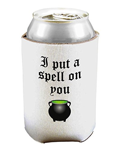 I Put A Spell On You Witches Cauldron Halloween Can/Bottle Insulator Cooler - 2 Pack