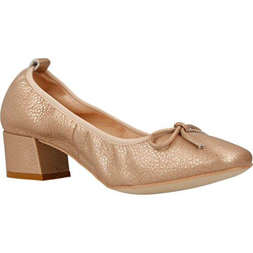 mikaela Zapatos Bailarina Para Mujer, Color Metálico, Marca, Modelo Zapatos Bailarina Para Mujer 17018 Metálico Metálico