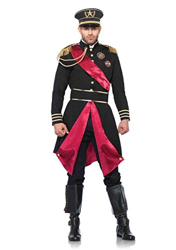 Military General Costume (2pc Military General Jacket Costume Bundle with Pink Shorts)