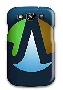 Durable Defender Case For Galaxy S3 Tpu Cover(jl Logo)