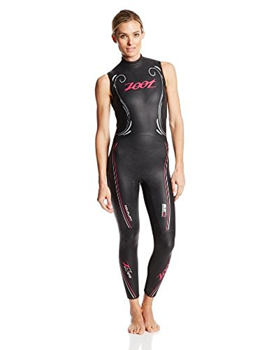 ZOOT SPORTS Women's Z Force 1.0 Sl Wetzoot, Small Tall, Black Beet