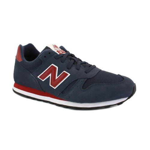 New Balance 373 Zapatillas de Ante para Hombre Azul Marino Blanco y Rojo - 43