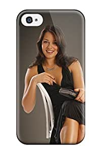 Tpu Case Cover Compatible For Iphone 4/4s/ Hot Case/ Ana Ivanovicchristmas