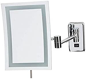 Jerdon Jrt710cld 6 5 Inch By 9 Inch Wall Mount Rectangular