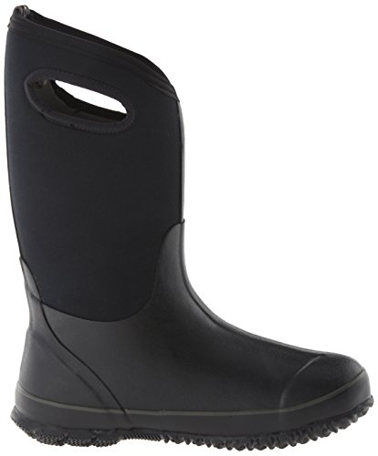 Wellingtons Handle1 High Kids Classic Bogs Black Boot qwHPOUZ84