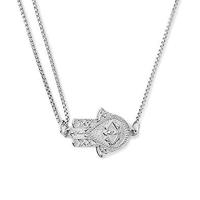 679db1243ecdf Amazon.com: Alex and Ani Women's Pull Chain Necklace Hand of Fatima ...