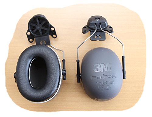 3M Peltor XSeries CapMount Earmuffs, NRR 31 dB, One Size Fits Most, Black X5P3E (Pack of 1) by 3M Personal Protective Equipment (Image #5)
