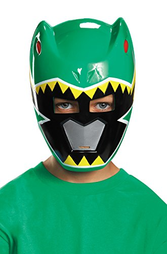 Green Ranger Dino Charge Vacuform Mask (Green Ranger Costumes)