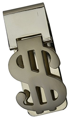 Money Sign Design - Dollar Sign Design Stainless Steel Money Clip