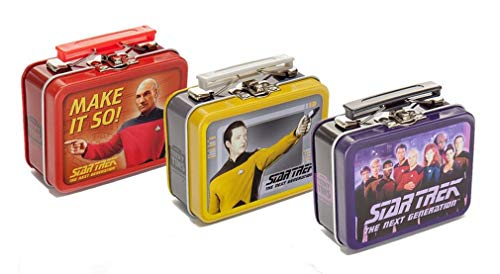 Star Trek The Next Generation Teeny Tin Lunch Box, Set of 3 Random ()