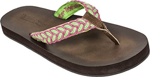 Pink Flip Tidewater Tallulah Green Women's Flop Green Sandals 66nTx8