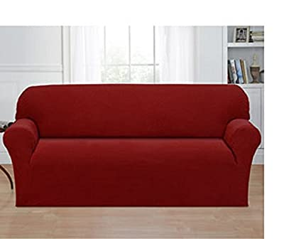 Savannah Collection One Piece Stretch Sofa Slip Cover
