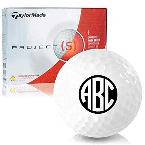 - Taylor Made Project (s) Monogram Personalized Golf Balls