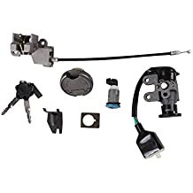 Ignition and Lock Set with Keys; CSC go., QMB139 Scooters