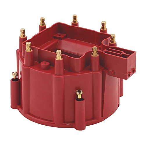 - Accel 8141R Red Corrected GM HEI Distributor Cap for V8 Engine