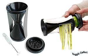 Attmu Vegetable Spiral Slicer - Perfect Vegetti Spiralizer Stainless Steel Sp...