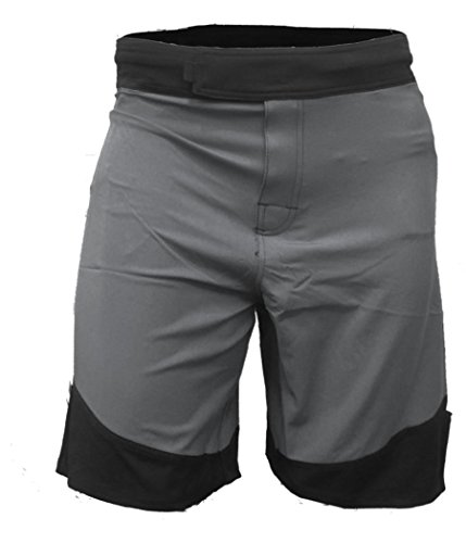WOD Shorts for Men Agility 3.0 (34, Grey/Black Trim)