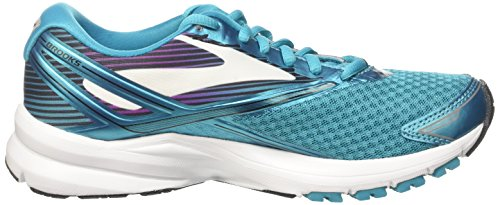 Brooks Womens Launch 4 Teal Victory / Weiß / Schwarz