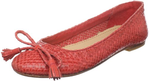 Pilar Abril Womens Lia Flat Red tNmI1