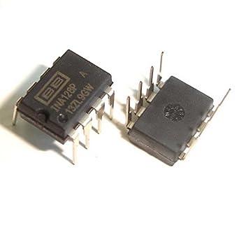 sruik herramienta 5 pcs ina128 Pa DIP-8 ina128p ina128 baja potencia amplificadores de instrumentación