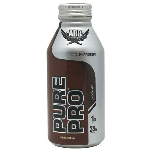 American Body Building Pure Pro 35  Chocolate  12 Ounce Bottles  Pack Of 12