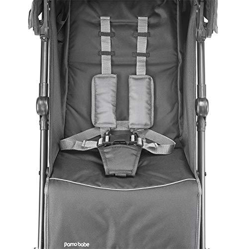 41 lP4D3L8L - Lightweight Stroller Foldable Infant Umbrella Travel Stroller (Black)